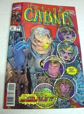 Cable #150 Homage To New Mutants #87 Marvel Legacy 3D Lenticular Variant $3 Ship