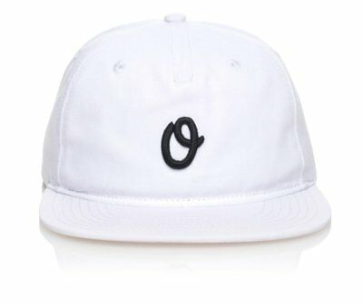 Official 5 Panel Hat - Miles Olo Everyday White Adjustable