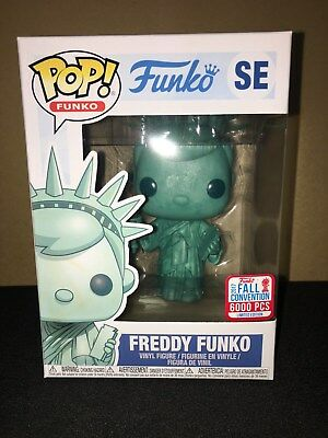 Funko Pop NYCC 2017 Liberty Freddy LE 6000