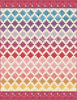 Free Shipping!!  New Spellbound Kit By Urban Chiks For Moda Quilt Fabrics