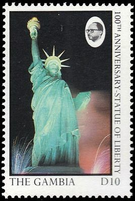 GAMBIA 685 (SG713) - Statue of Liberty Centenary (pf13647)
