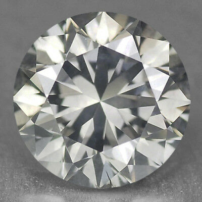 1.59 Cts EXCELLENT RARE SILVER GREY COLOR NATURAL LOOSE DIAMONDS- SI1