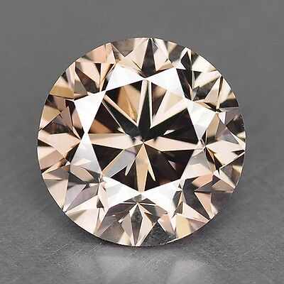 0.89 Cts UNTREATED RARE PINKISH BROWN COLOR NATURAL LOOSE DIAMONDS- SI1