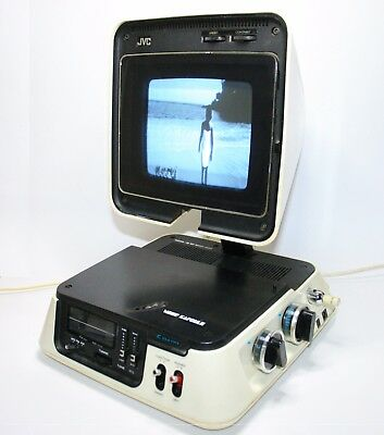 Jvc 3100R Video Capsule Iconic 1971 Radio/television Working Vintage Fernsehen