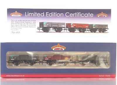 Mint Limited Edition Bachmann 38-325K Oo - Zgv Department 13 Ton Open Wagon Set