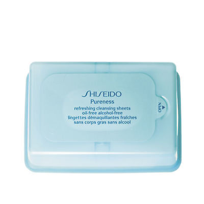 Shiseido Pureness Refreshing Oil Free Cleansing Sheets (30 Sheets) Pureness