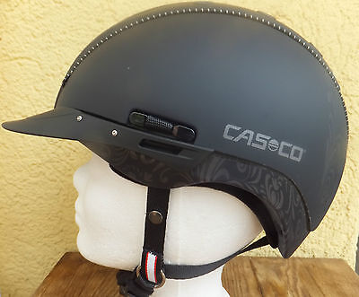 CASCO Reithelm Reitkappe Mistrall 2 VG1.01 Siegel floral
