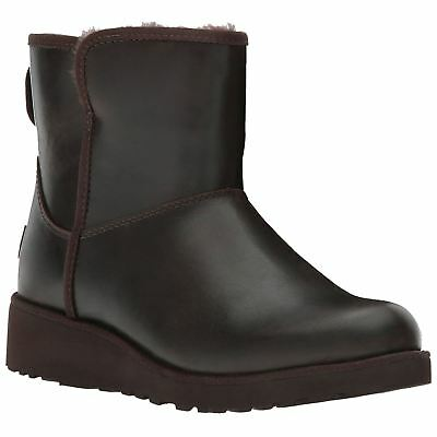 Ugg Australia Kristin Leather Stout Womens Ankle Boots