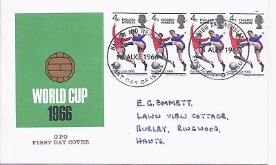 1966 Football World Cup Winners cover signed Alf Ramsey