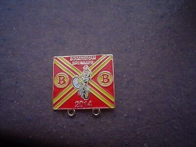 Birmingham 2014    Speedway Badge Mint Con In Gold