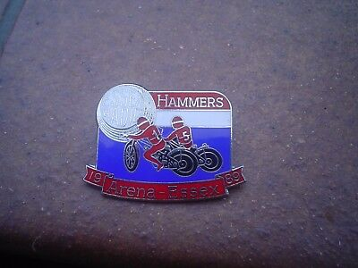 Arena Essex   1989   Speedway Badge Mint Con In Silver