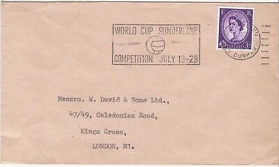 GB 1966 Football World Cup Sunderland slogan cover