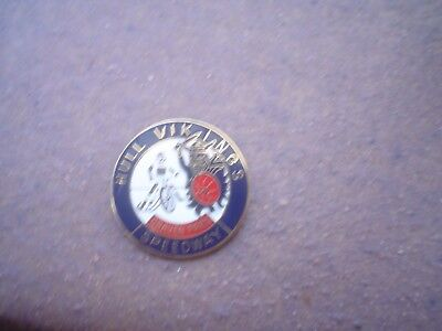 Hull  Craven Park Dark Blue With Red Shield  Speedway Badge Mint Con In Gold