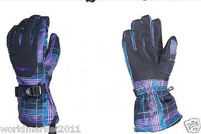 A11 Outdoor Skiing Waterproof Breathable Winter Warm Ski Gloves New M