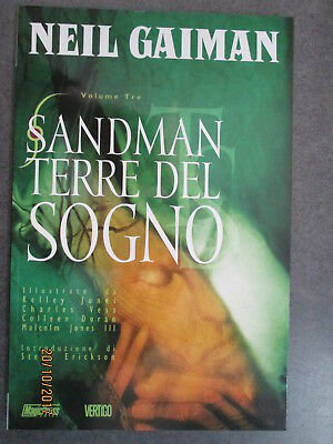 Sandman  Vol. 3 - Neil Gaiman - Terre Del Sogno - Magic Press 2006