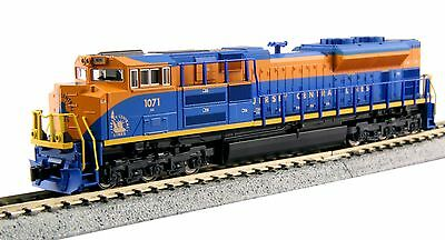 176-8509 Locomotive SD70ACe Jersey Central Lines KATO N 1/160
