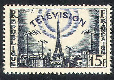 France 1955 Television/Communications/Eiffel Tower/Telecomms 1v (n33135)