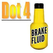 TRW 1L DOT4 Brake Fluid 1 Litre DOT 4 Synthetic Hydraulic Braking Systems