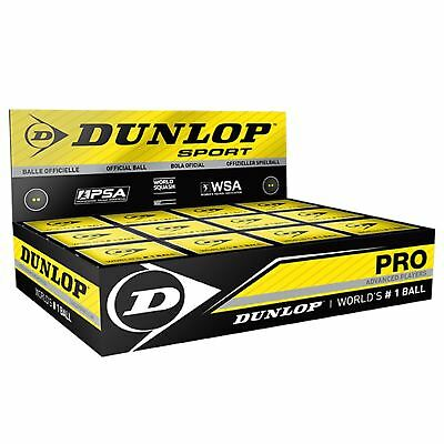 Dunlop Squash Balls Pack of 12 Advanced Players Sports Equipment Accessories