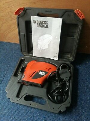Black And Decker Jigsaw In Case With Instructions KS100K