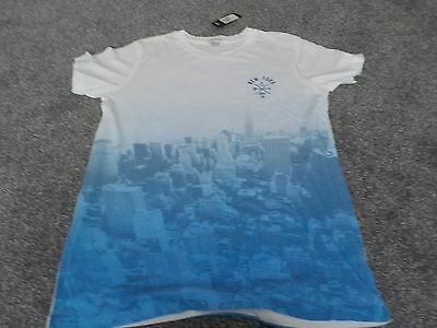 Boys New York River Island T Shirt Size Age 11-12 Take A Look!!!