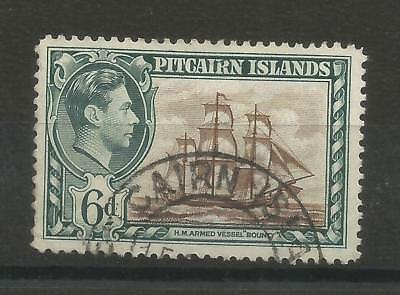 One Penny Arcade A Nice Pitcairn Is 1940 6d Used Definitive Issue
