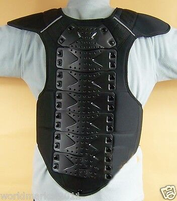 Ski Vest Thicken Roller Ski Skate Skating Vertebra/Chest Safety Protective Pad