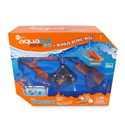 HEXBUG Aquabot 2.0 The Harbour includes 2 Sharks - New