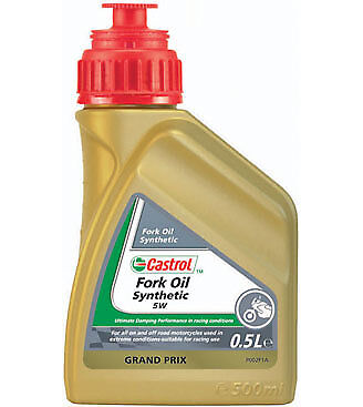 Castrol 151ac6 Fully Synthetic 5W Suspension Fork Oil Fluid  500ml
