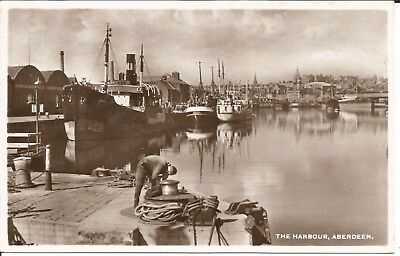 Arcade 99p A Nice The Harbour,Aberdeen Postcard