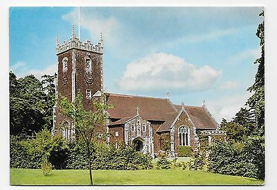Postcard: Sandringham Church, Norfolk