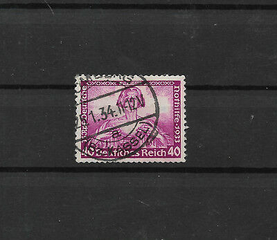 Germany Wagner Mi #527 superb used 25th Jan 1934 170 euro  (#8609a)