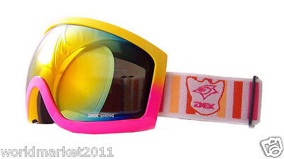 A6 Multi-colored Outdoor Resin Double-Layer Anti-Fog Professional Ski Goggles