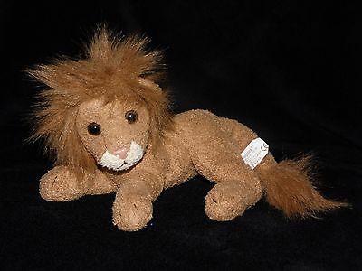 Russ Ruggles Lion Soft Toy Brown Comforter Beanie Doudou Berrie No. 21844