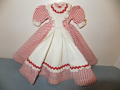 "Vintage 1948 Little Women Tagged Dress For Hard P. 15"" Meg Doll Mad. Alexander"