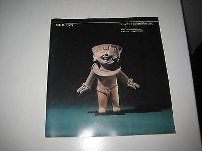Sotheby's Catalogue Tribal Art  Pre-Columbian Art Jun82