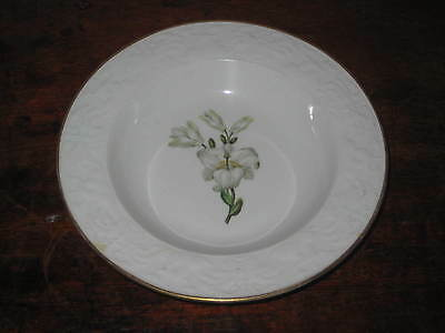 Spode Pattern 1875 Bowl Circ 1818 Embossed Dolphins Varieties Lilies