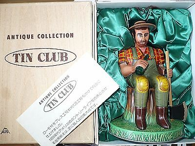 Alps Japan RELAXING LUMBERJACK Paul Bunyan Tin Club Character Figure No. 01317