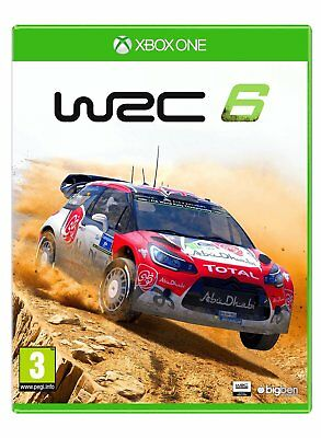 * XBOX ONE NEW SEALED Game * WRC 6 * WORLD RALLY CHAMPIONSHIP