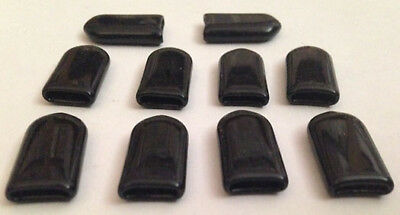 New Antares - Edina Snack & Soda Vending Machine - 10 Protective End Caps - Blk