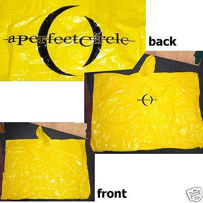 A Perfect Circle Crescent Yellow Poncho Rare New Tool Official Merch Shirt