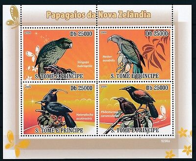 [ETA0800] Sao Tome & Principe 2009 Birds good very fine MNH sheet