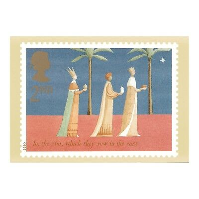 CHRISTMAS 1996 - STAR IN THE EAST - DESIGNED by LAURA STODDART  PHQ 64 POSTCARD