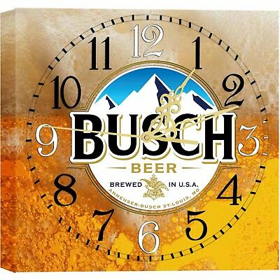 LIGHTED BUSCH Bar Clock