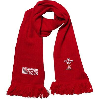 Wales Rugby RWC World Cup 2015 Scarf Six Nations Canterbury