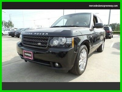 2012 Land Rover Range Rover HSE 2012 HSE Used 5L V8 32V Automatic Four Wheel Drive SUV Premium