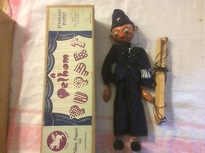Pelham Puppet Type SS policeman 1950's boxed
