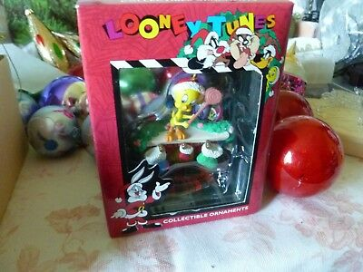 Looney Tunes Collectable Ornament Tweety Bird Mint