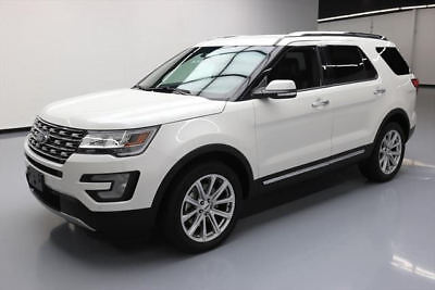 2016 Ford Explorer Limited Sport Utility 4-Door 2016 FORD EXPLORER LTD AWD 7-PASS LEATHER NAV 20'S 36K #B98943 Texas Direct Auto