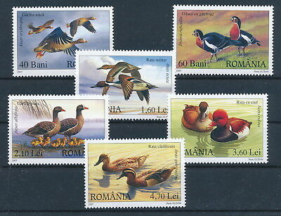 [H0373] Romania 2007 Birds good Very Fine MNH set of stamps